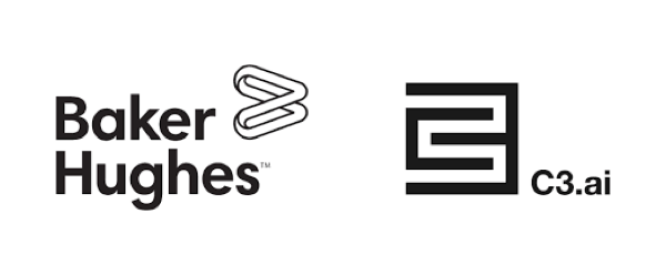 Baker Hughes and C3ai logos side by side