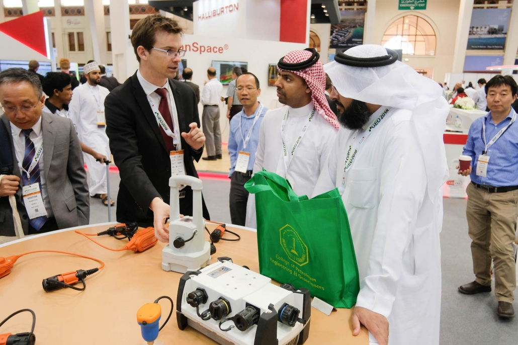 Product demo at GEO 2018